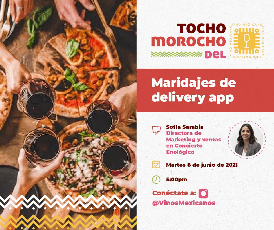 Maridaje de delivery app